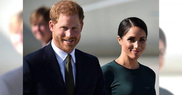 Meghan i Harry w pierwszej wspólnej podróży do Irlandii. Jak prezentowała się księżna?