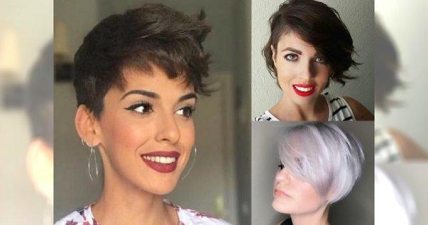 Odmładzające fryzury krótkie - cięcia z grzywką, pixie i wiele innych