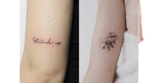 Małe tatuaże dla dziewczyn: biało-czarne i kolorowe wzory z modnymi motywami