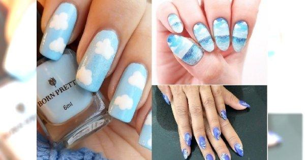 Manicure 2018: Cloudy nails to hit na Instagramie! Zobacz najpiękniejsze propozycje!