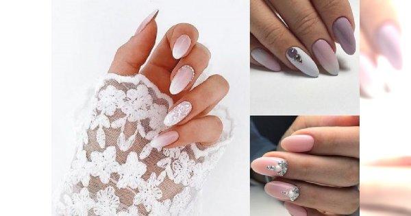 33 propozycje na piękny ślubny manicure 2018! [GALERIA]