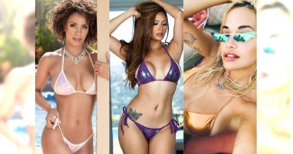 Holograficzne bikini - HIT tego lata!