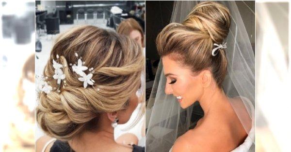 Fryzury ślubne z welonem, wiankiem i kwiatami. Najpiękniejsze fryzury dla panny młodej