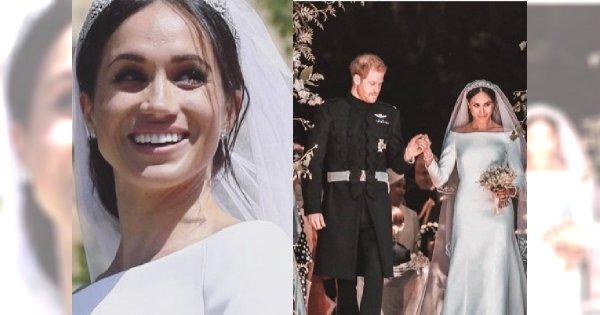 Internauci śmiali się, że w dniu ślubu Meghan Markle wyglądała jakby dopiero co wstała z łóżka. A co na to książę Harry?