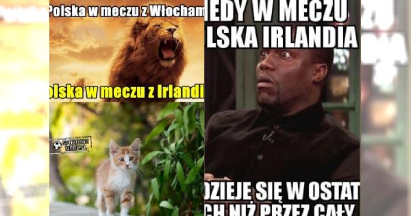 Memy po meczu Polska-Irlandia. Zobacz najlepsze!