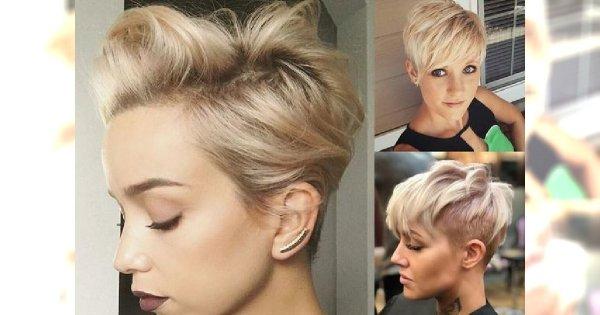 Odmładzające fryzurki pixie dla blondynek - trendy 2018 [GALERIA]