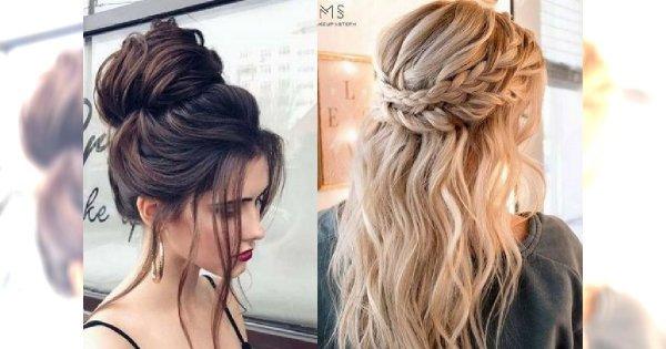 Fryzurki dla długich włosów idealne na każdą okazję! [galeria]