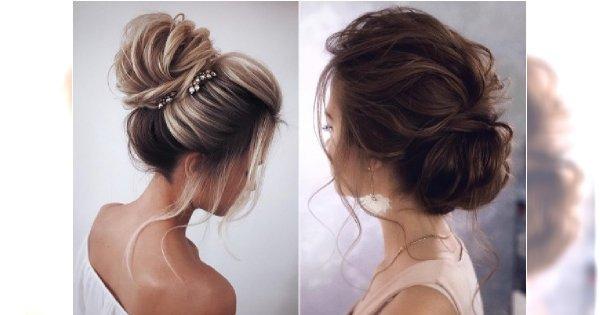Koki ślubne - eleganckie fryzury dla panny młodej na jesienną uroczystość