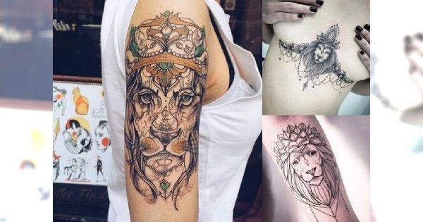 23 Pomysły Na Prześliczny I Oryginalny Tatuaż Z Motywem Lwa