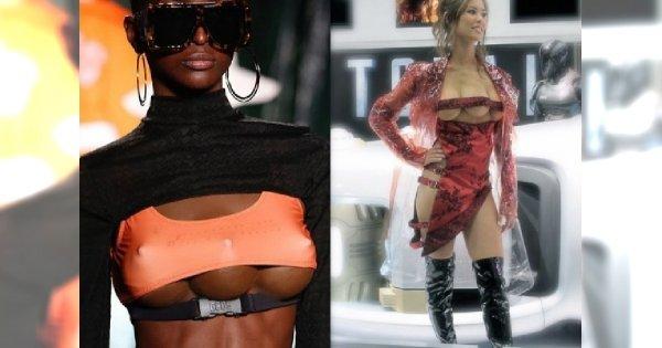 Modelki z TRZEMA piersiami - na mediolańskim wybiegu zadawały szyku. Spełnienie męskich marzeń czy wręcz przeciwnie?