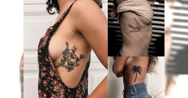 Tatuaż na żebrach - 25 ultrakobiecych wzorów!
