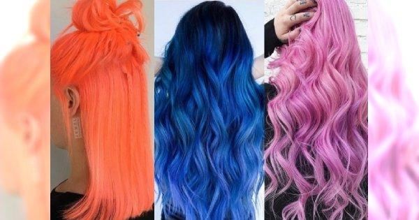 Nowy odważny trend w koloryzacji: neonowe włosy! Która się odważy??