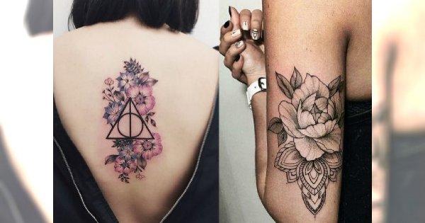 Tatuaże Kwiaty Galeria Przepięknych Wzorów Dla Kobiet