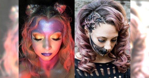Fryzury na Halloween - galeria mrocznych pomysłów