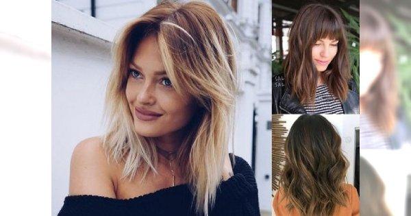 Cięcia dla włosów półdługich - galeria ultrakobiecych fryzur, którym ciężko się oprzeć!