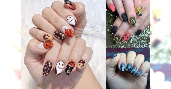 Manicure na Halloween - 15 pomysłów, które robią wrażenie!