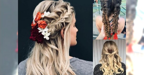 Piękne i oryginalne fryzury z warkoczem - galeria stylowych inspiracji