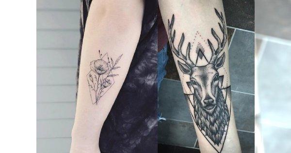 Tatuaż Na Przedramię Oryginalne I Kobiece Wzory Dla Dziewczyn