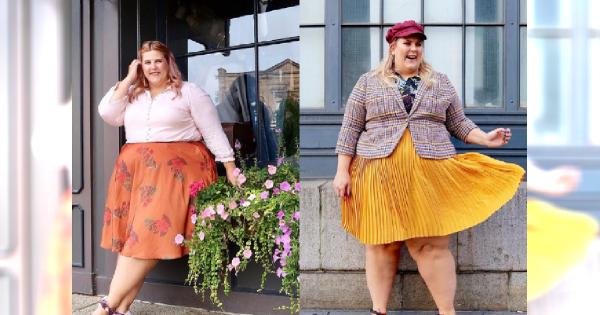 Blogerka modowa plus size - ona wie jak bawić się modą!