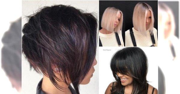 Najpiękniejsze Fryzury średnie Jak Modnie ściąć Włosy Do