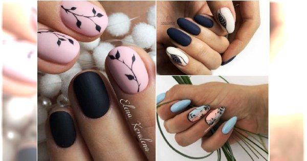 Jesienny manicure z wzorkami. 20 najlepszych pomysłów na oryginalne hybrydy