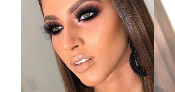 Modny makijaż na sylwestra: blade usta i ciemne oczy. Spektakularny efekt jest na topie!