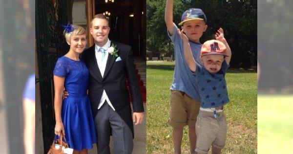 Mama dwójki dzieci dowiedziała się, że ma raka mózgu w TERMINALNYM stadium, lecz załamała ją dopiero diagnoza młodszego synka