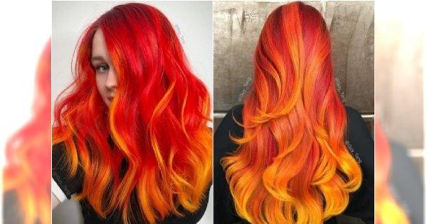 GORĄCY TREND: Włosy w ogniu. Takiej koloryzacji jeszcze nie próbowałyście!