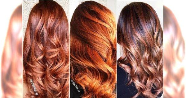 Modna koloryzacja na jesień 2018? Wypróbuj balejaż w najmodniejszych odcieniach rudości
