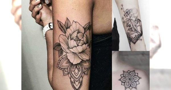Galeria tatuażu - śliczne, kobiece i pomysłowe wzory, które skradną Ci serce
