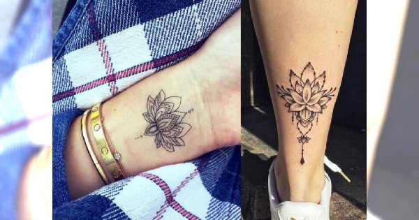 Kwiat Lotosu 25 Niezwykle Kobiecych Tatuaży Które Cię