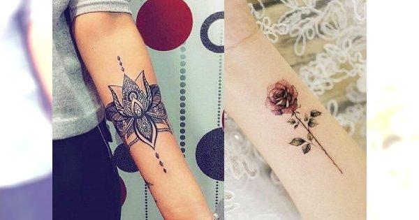 Najpiękniejsze tatuaże dla kobiet - galeria ślicznych i niebanalnych wzorów