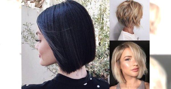 Short bob ponownie na topie - galeria pięknych i kobiecych fryzur
