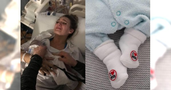Pokazała, jak tuli i kąpie MARTWEGO noworodka! Chłopiec nie umarłby, gdyby obawy jego mamy potraktowano poważnie...