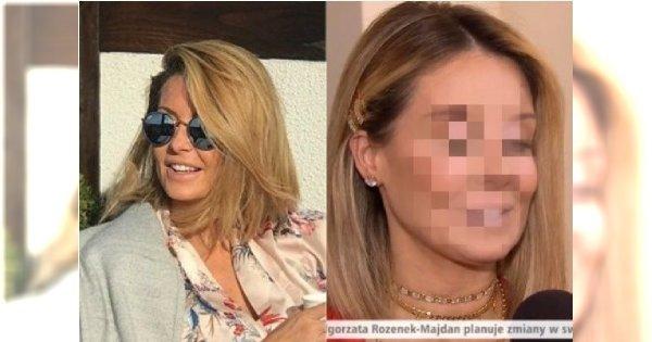 """Małgorzata Rozenek w """"DD TVN"""". Fani: W krótkich włosach bardziej widać, jak się SPOMPOWAŁA"""
