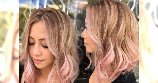 Candy balayage - nowa, urocza koloryzacja włosów dla blondynek. Ale SŁODKO!