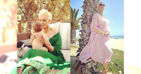 """Brigitte Nielsen przebrała córeczkę za księżniczkę. """"Cudowna!"""", piszą fani. Ale wciąż mają do jej mamy tę jedną prośbę..."""