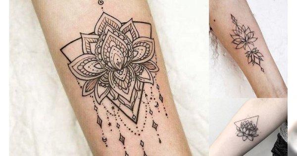 Tatuaż Kwiat Lotosu Galeria Niezwykle Kobiecych