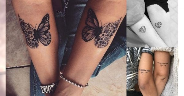 Tatuaże Dla Przyjaciółek Najsłodsze Propozycje Z Sieci