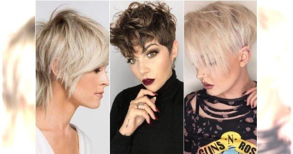 Modne Krótkie Fryzury 2019 Powracają Cięcia Włosów