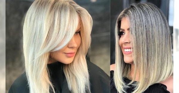 Fryzury średnie 2019 Modne I Bardzo Kobiece Cięcia Włosów