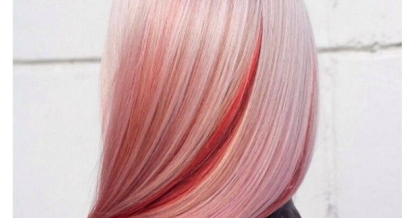Oryginalna koloryzacja włosów z ukrytym kolorem. Widziałyście takie cudo?