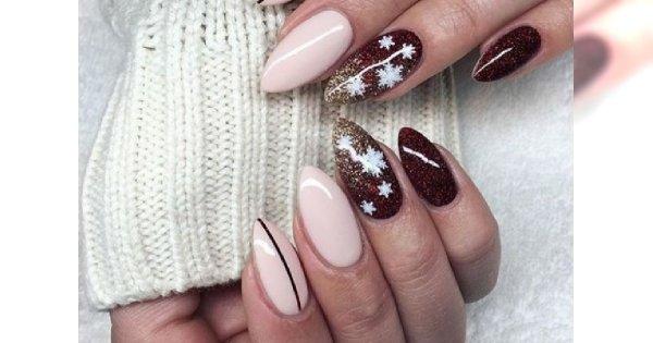 Świąteczny manicure: wzory paznokci na mikołajki i Boże Narodzenie. 30 najlepszych inspiracji