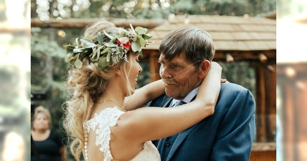 Miłość śmiertelnie chorego ojca do ukochanej córki pokonała zalecenia lekarza