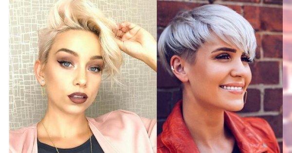 Krótkie Cięcie Włosów Kobiece Fryzury Pixie I Wiele Innych