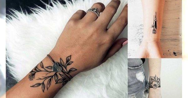 Tatuaż Na Nadgarstek Galeria Unikatowych Wzorów Dla Kobiet