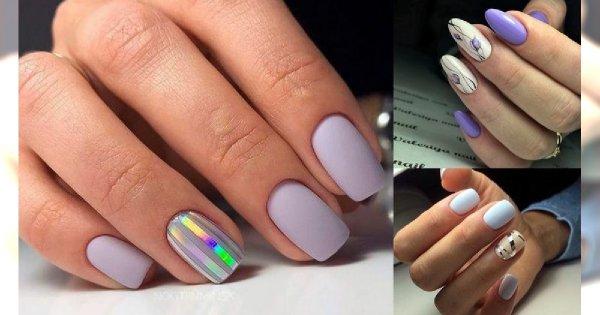 Pastelowy manicure - 16 dziewczęcych i delikatnych zdobień