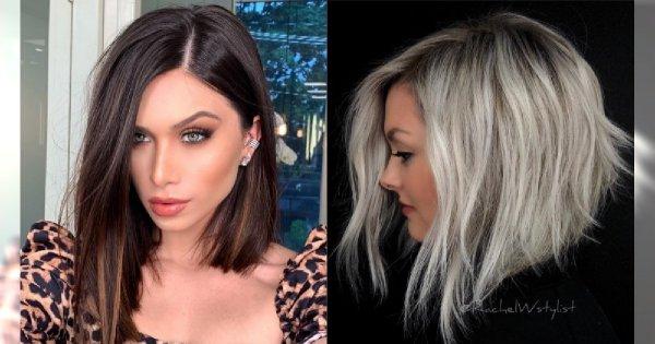 Fryzury średnie 2019 Modne Cięcia Włosów Do Ramion
