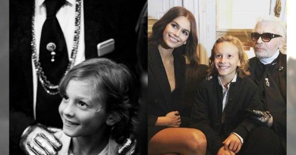 Błyszczy na wybiegu, kochają go znane modelki. Ten dziesięciolatek jest oczkiem w głowie samego Karla Lagerfelda!