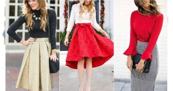 Stylizacje świąteczne, czyli jak się ubrać na święta Bożego Narodzenia. Podsuwamy pomysły na modne zestawy ze spódnicą i spodniami